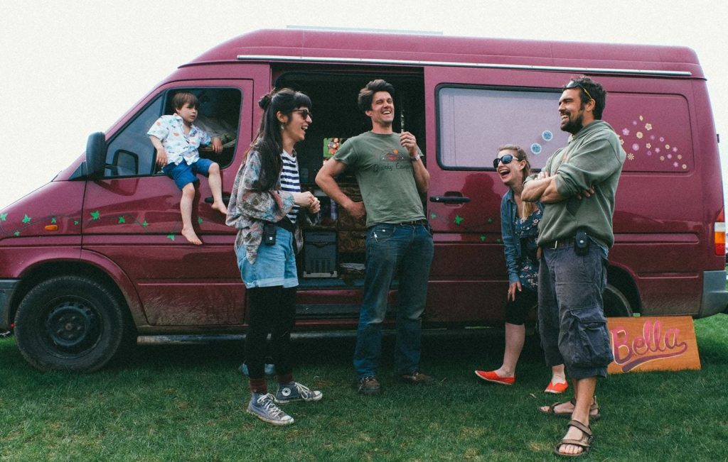 Quirky Campers campervan hire team