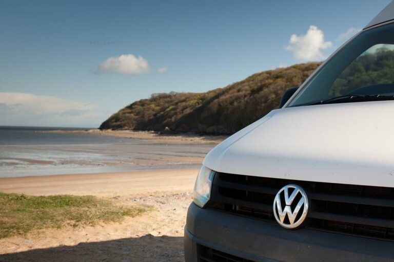 hire a VW for your holiday in the gower