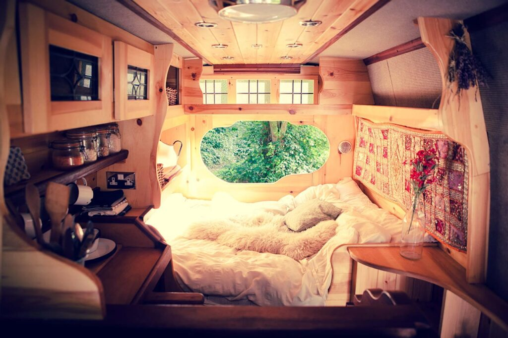 beautiful campervan for hire from London