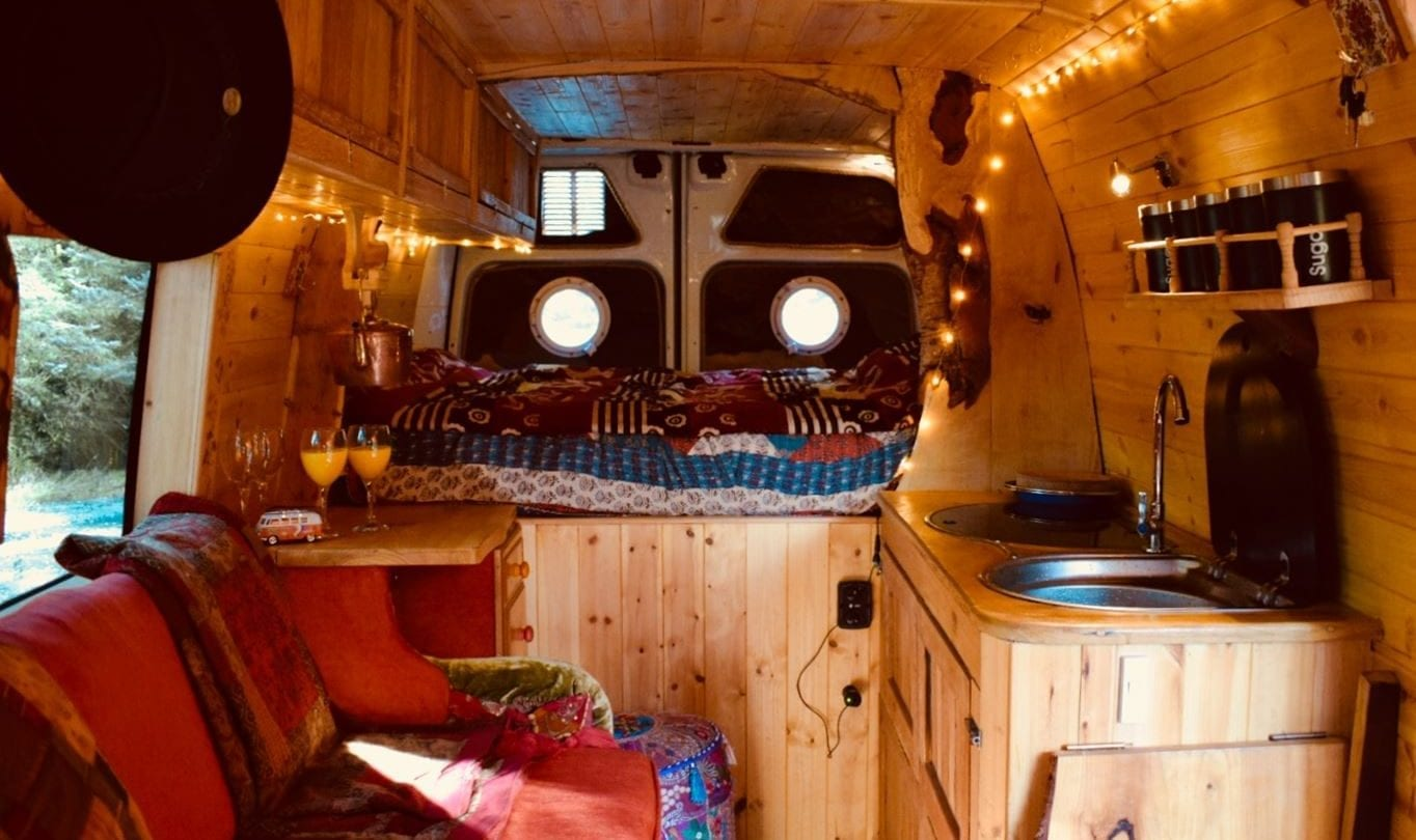 Beautiful Handcrafted Campervan for rent from Fife