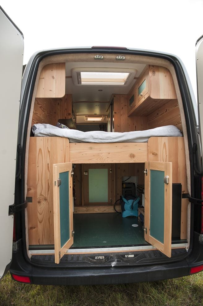 Angel Campervan For Hire From Kent With Shower And Toilet 21