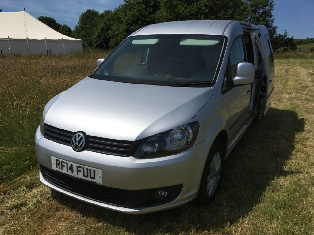VW Caddy Maxi microcamper vehicle front
