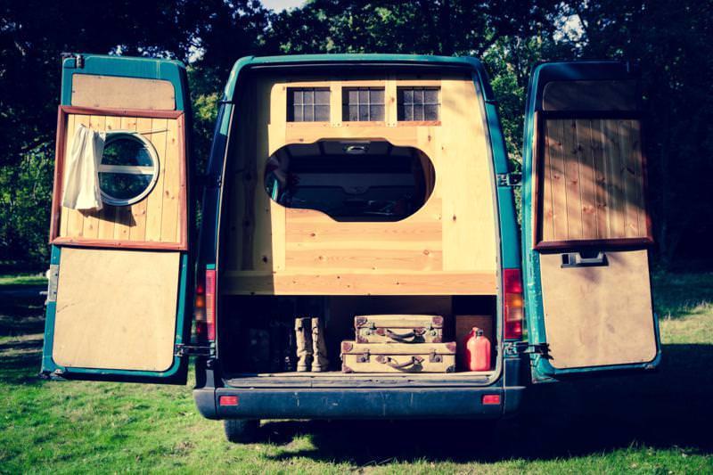 Beautiful Campervan conversion