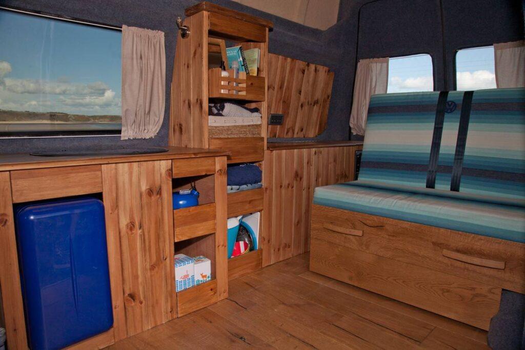 hire a handmade campervan in Swansea