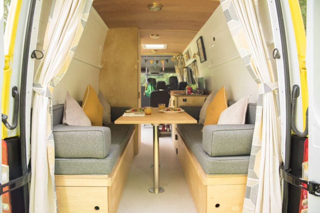 campervan available to hire from yorkshire