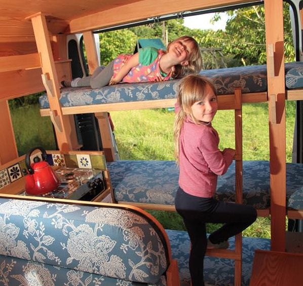 Bunk beds for the kids in Agnes