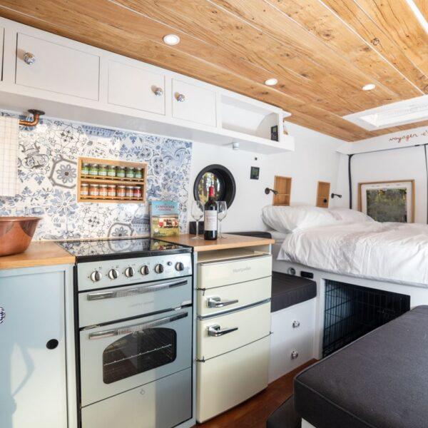 romantic french campervan