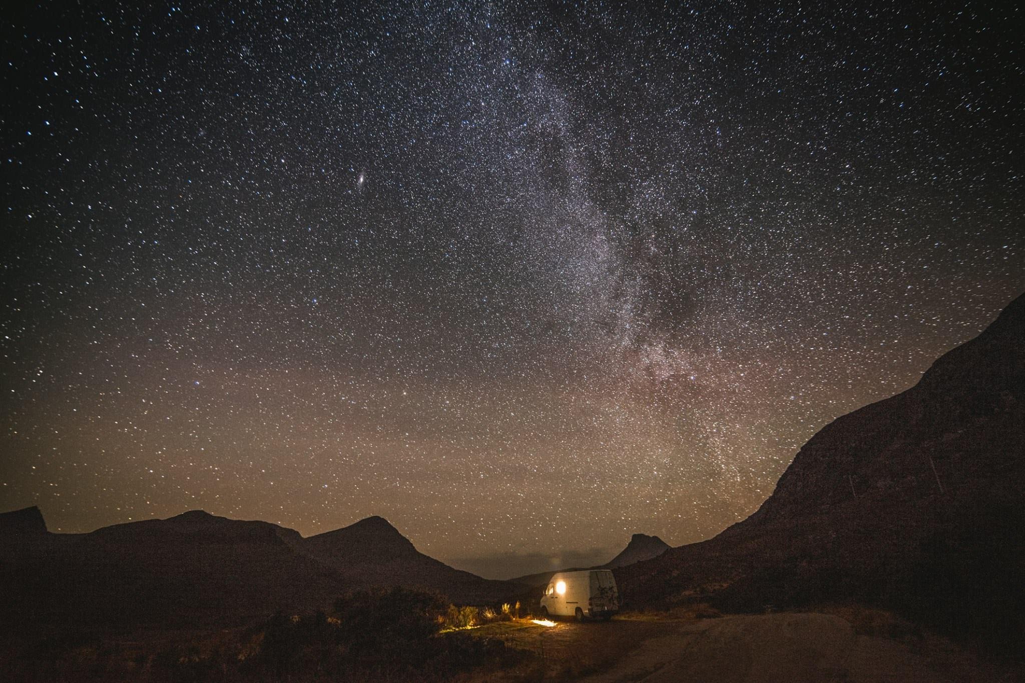 A starry night in Ireland