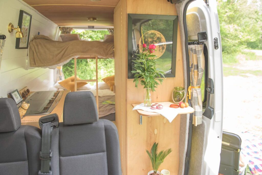 The campervan Mo can house a family of five
