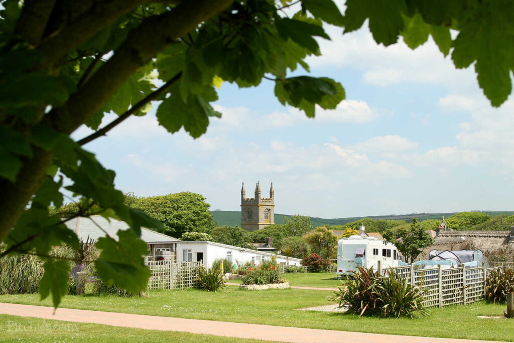 Park your Quirky Camper at Gwithian Farm campsite