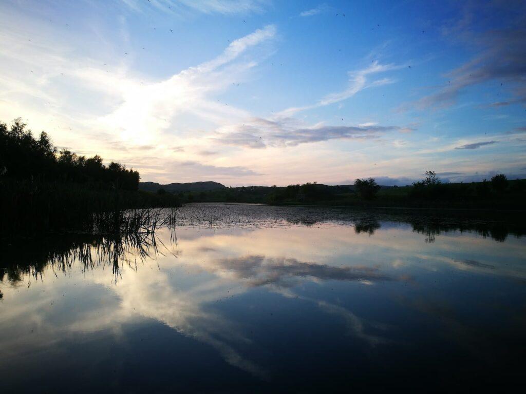 Lake at fforest fields
