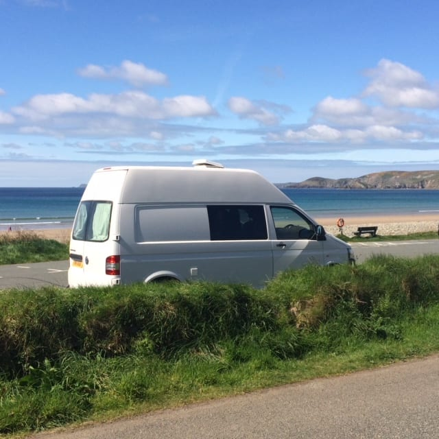 travel wales in a campervan