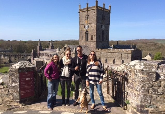 travel wales and visit st Davids