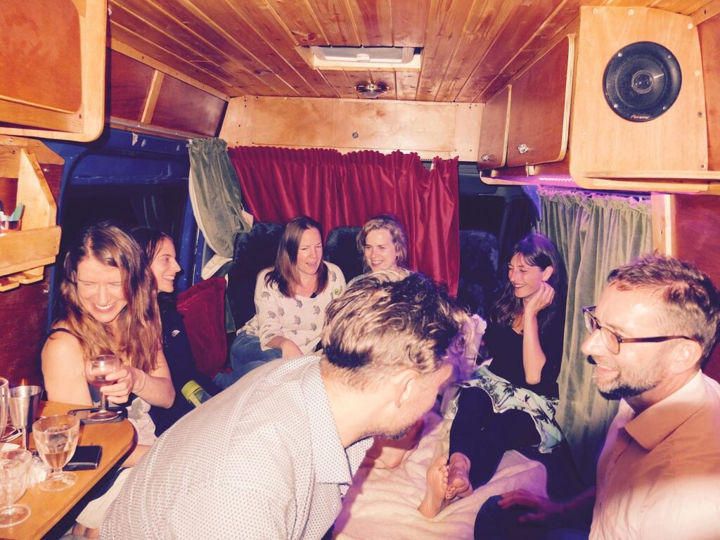 will you buy a campervan with space for a party