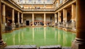 Roman Bath Spa.