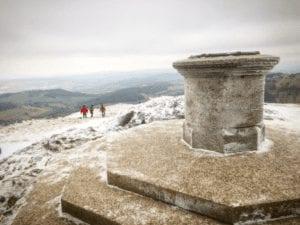 The summit of the Malvern Hills