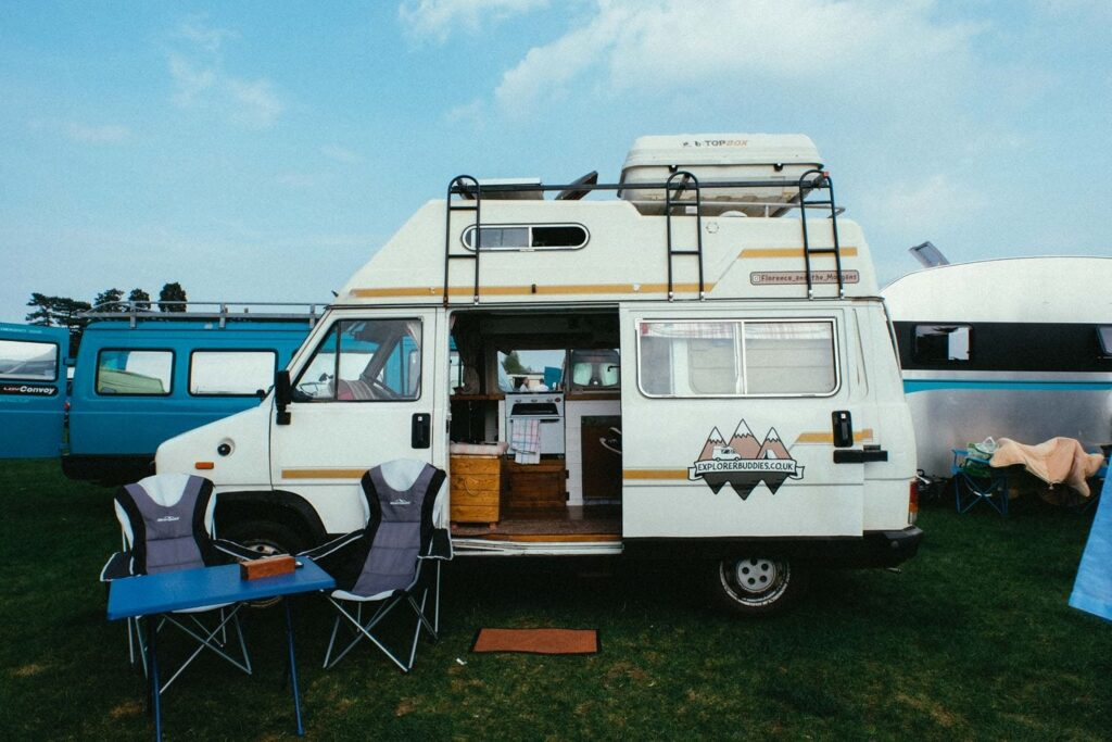 Florence and the Morgans were one of the vanlife special guests at camp Quirky 2018