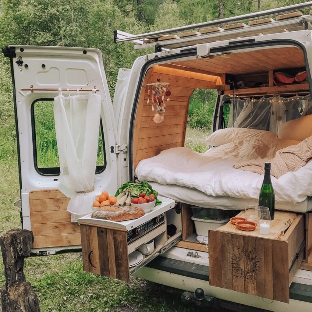 cost of food and drink in a campervan