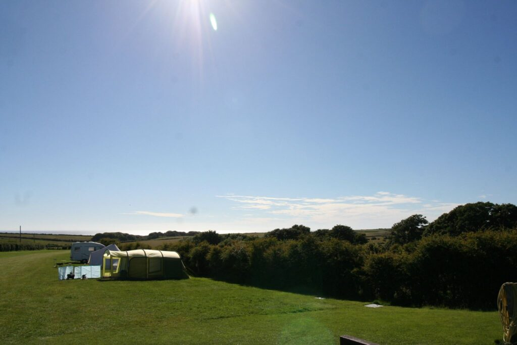 Campsite on the Heritage Coast