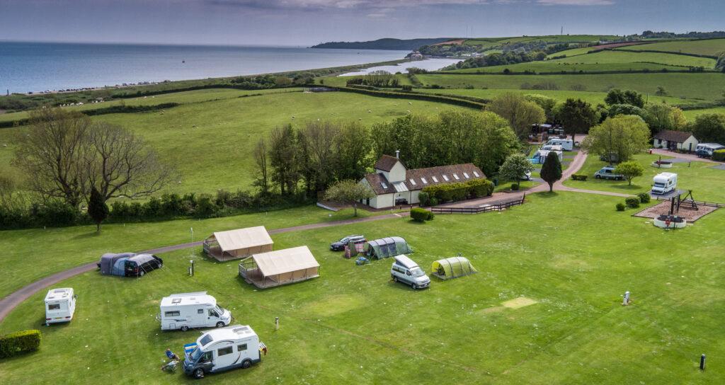 Slapton Sands Campsite in Devon