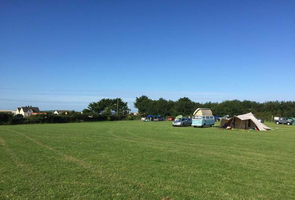 Bayview Farmers, Campsite in Devon